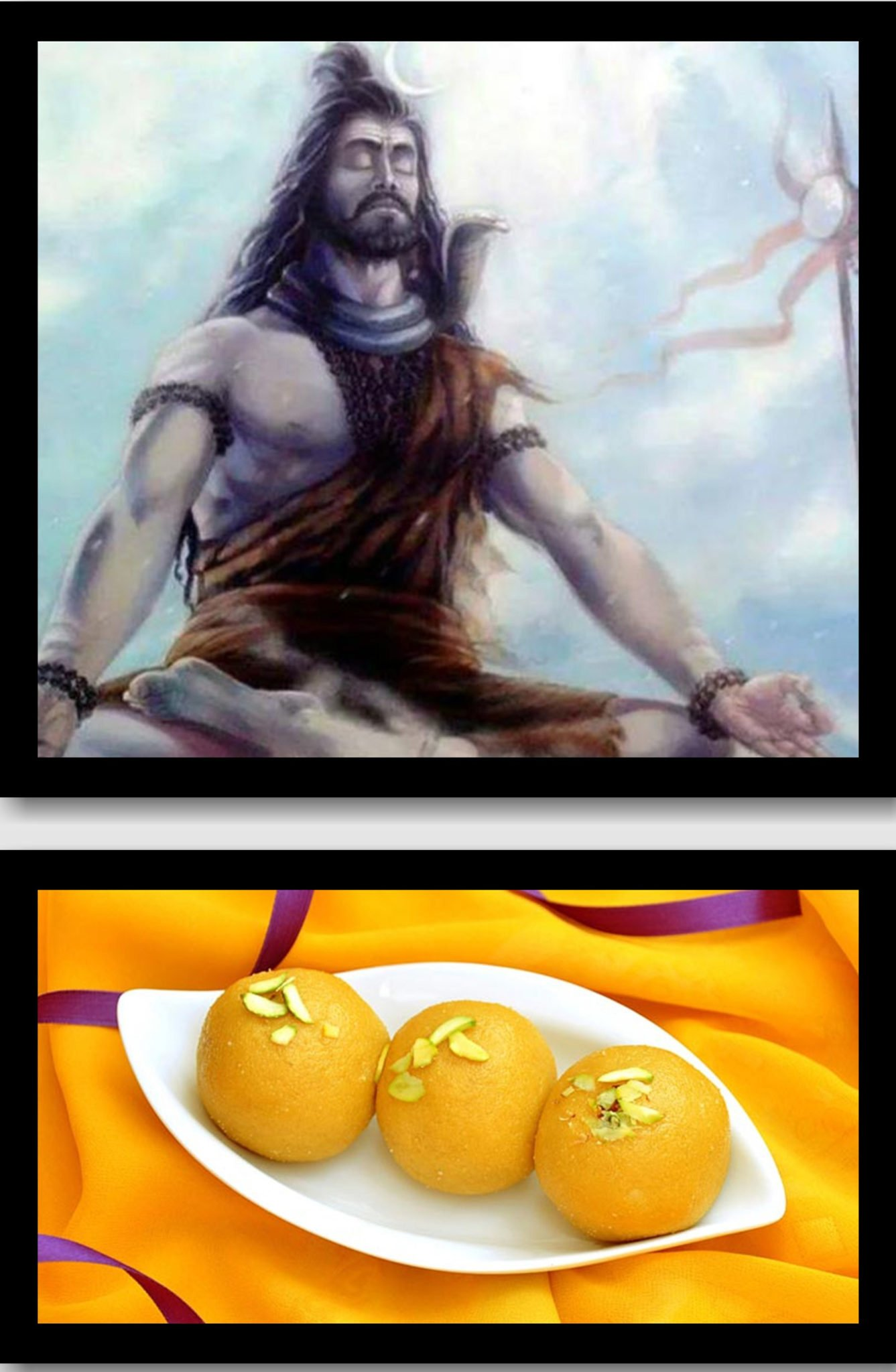 Lord Shiva loves sweets