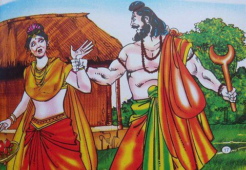 Ramayana-Ravana-Kidnapping-Sita-Devi