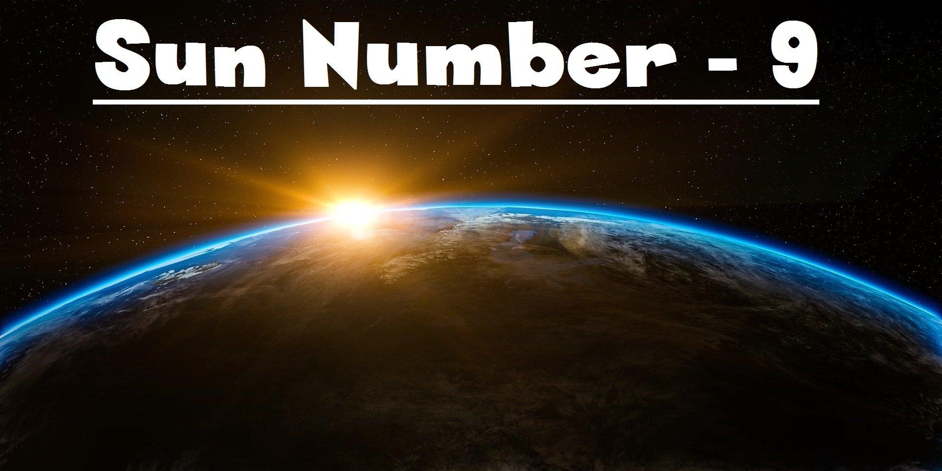 Sun Number 9