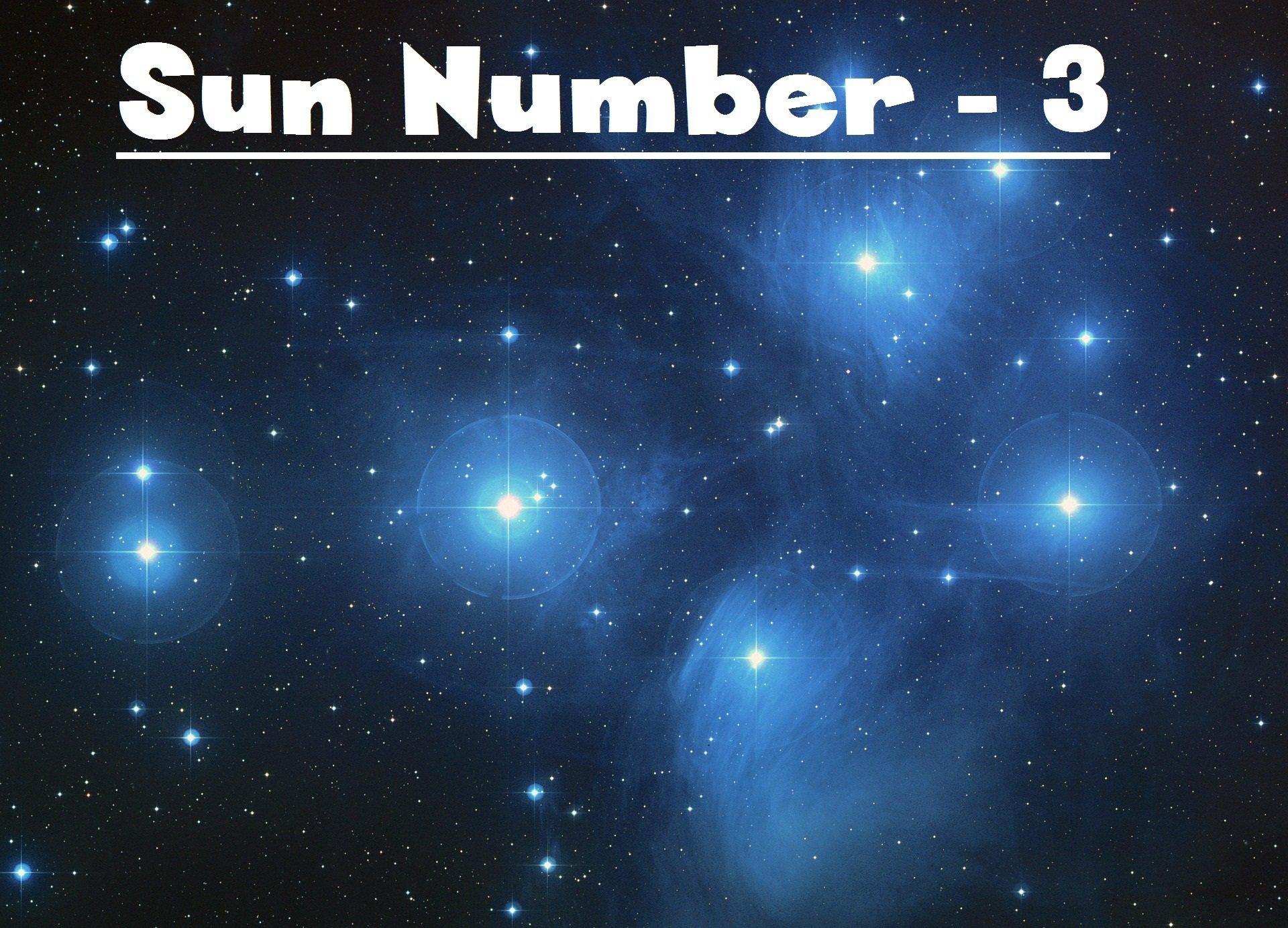 Sun Number - 3